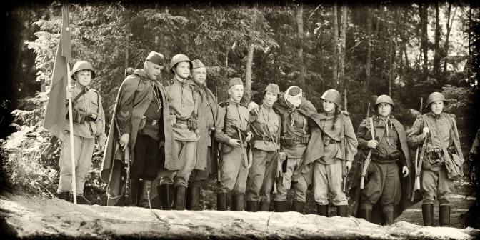 Реконструкция эпизода Советско-финской войны