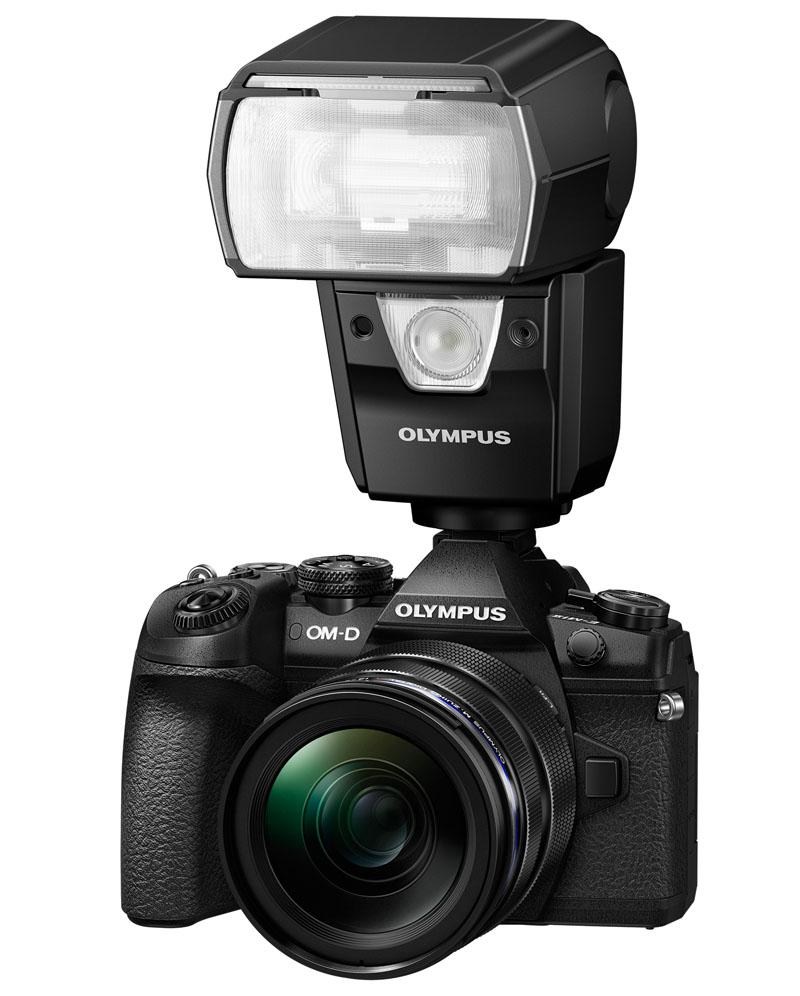 Olympus FL-900R flash on OM-D E-M1 Mark II